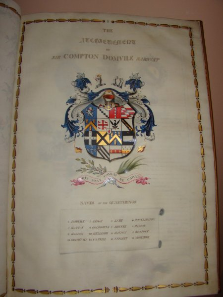 The Atchievement of Sir Compton Domvile Baronet