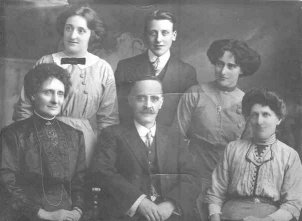 Joseph Dumville (1862-1959) and family