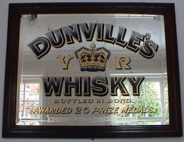 Dunville's Whisky Mirror